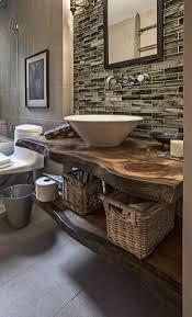 deco bois brut 1001 idées pour créer une salle de bain nature