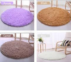 Big Round Rugs Thick Big Round Floor Carpets For Living Room Bathroom Circle Mat