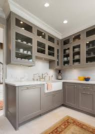 one coat kitchen cabinet paint gray painted kitchen cabinets with ann sacks subway tiles
