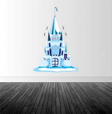 ice castle wall decal princess castle decal vinyl wall