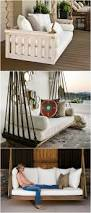 Circle Hanging Bed by Best 25 Patio Bed Ideas On Pinterest Outdoor Furniture