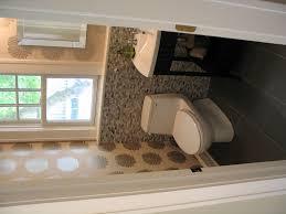Bathroom Upgrades Ideas Colors A Play In Color And Texture For Half Bathroom Remodel Cafemomonh