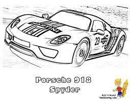 gusto car coloring pages porsche corvette free coloring cars
