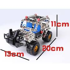 jeep model kit 48pcs plastic model kits metal model puzzle jeep car baby