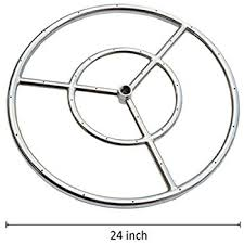 Fire Pit Parts And Accessories by Amazon Com American Fireglass Stainless Steel Fire Pit Burner