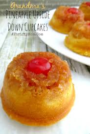 grandmas pineapple upside down cupcakes quick and easy recipe