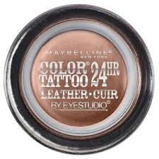 maybelline eye studio color leather 24hr eyeshadow target