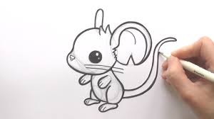 how to draw a cartoon mouse from transformice zooshii style