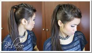 picture of nicole s hairstyle from days of our lives 25 ways to dress up your ponytail