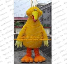 Big Bird Halloween Costumes Yellow Big Bird Mascot Costume Mascotte Sesame Street Big