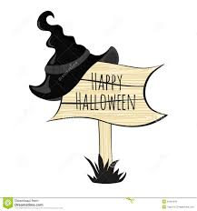 happy halloween witch hat stock photography image 33424542