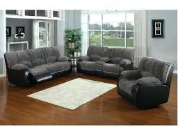 Reclining Sofa With Console by Dual Recliner With Center Console Jagger Gray Reclining Sofa