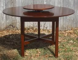 custom lazy susan table by liberty carvings inc custommade com