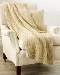 Ralph Lauren Home Decor by Cable Cashmere Throw Blanket Throws U0026 Pillows Home Ralphlauren Com