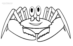 Great Crab Coloring Pages Top Child Coloring D 2699 Unknown Crab Coloring Page