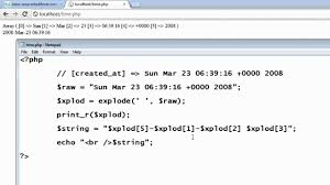 varchar date format php format date and insert into database table php youtube