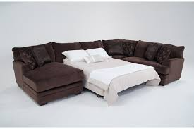 Sofa Bed Sectional Charisma 3 Piece Right Arm Facing Sleeper Sectional Bob U0027s