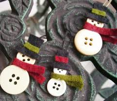 25 unique button ornaments ideas on button