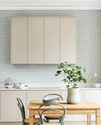 wallpaper ideas for kitchen beautiful kitchen wallpaper ideas for every furnishing style 30