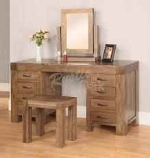 santana dressing table rustic oak