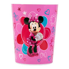 Walmart Kids Bathroom Disney Minnie Mouse Waste Basket Bath Walmart Com Home Deco