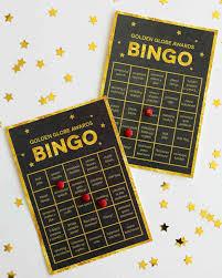 golden globes printable bingo cards martha stewart