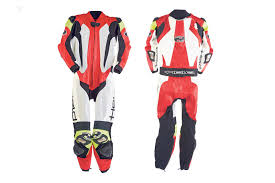 motorcycle leather suit held slade made to measure leather suit mcn