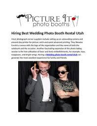 photo booth rental utah hiring best wedding photo booth rental utah by cina issuu