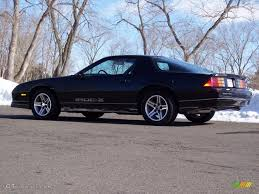 black 1985 chevrolet camaro iroc z exterior photo 44741207
