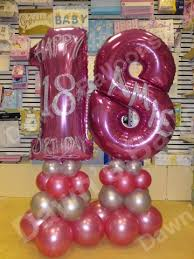 personalised birthday balloons balloon decoration nottingham photo gallery dawns balloons 4 all