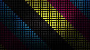 polka dots pattern cmyk digital art artwork wallpapers hd