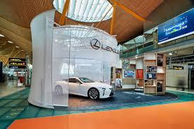 concesionarios lexus valencia galería lc 500 aeropuerto t4 madrid lexus prensa