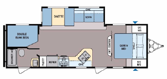 2 bedroom floorplans 2 bedroom travel trailer floor plans pictures cers with bedrooms