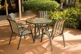 Outdoor Mesh Furniture by Cleaning Outdoor Furniture Mildew