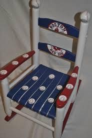 Baby Furniture Chair Boys Multi Sport Baseball Football Basketball Custom Hand Painted
