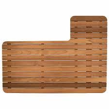 teak shower mat for airstream 27 front bedroom trailer u2013 teakworks4u
