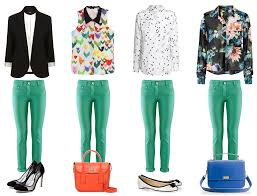 What Colours Go With Green by With Green Pants How To Wear Coloured Pants