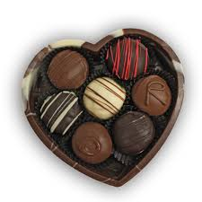 chocolate heart box chocolate heart box gourmet chocolate truffles for the one you