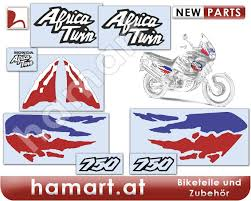 honda xrv hamart sticker set 9 pieces honda xrv 750 rd07 africa twin
