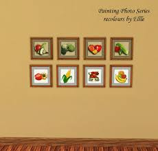 Dining Room Paintings by Mod The Sims Painting Photo Seties For Kitchen And Dining Room