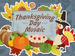 thanksgiving day mosaic free