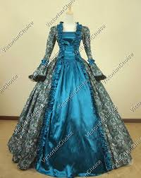 Ball Gown Halloween Costume Wiccan Ball Gown Reenactment Halloween Costume