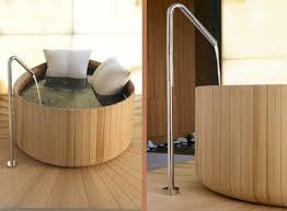 vasche da bagno legno vasca da bagno naturale ideare casa