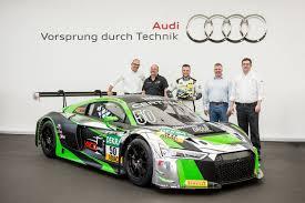 audi racing jubiliejinis u201eaudi r8 lms u201c bolidas atiteko vokiečių komandai