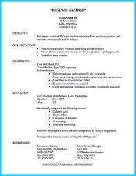 Culinary Resume Examples by Manufacturing Manager Resume Example Everything Pinterest