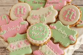 baby shower cookies baby shower cookies baby shower cookies the baked equation