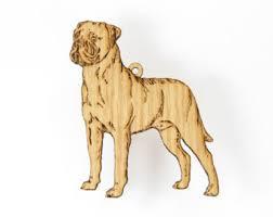 mastiff ornament etsy
