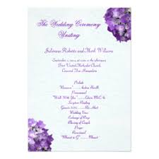 Diy Wedding Programs Templates Diy Wedding Invitations U0026 Announcements Zazzle