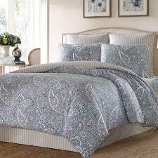 Cynthia Rowley Bedding Queen Lancaster Paisley Comforter Bedding Blue Target I08 Msexta
