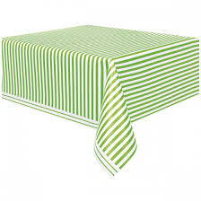 Lime Green Table L Lime Green Stripe Table Cover Wally S Factory